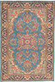 See details of Kirman rugs